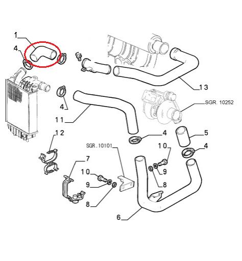 Fits Fiat Ducato Peugeot Boxer Citroen Relay Intercooler