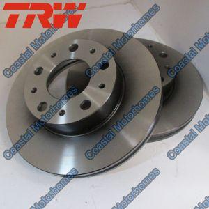 Fits Fiat Ducato Peugeot Boxer Citroen Relay Front Vented Discs 51848620