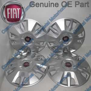 "Fits Fiat Ducato 15"" Wheel Trim Hub Caps 2014-Onwards OE X4"