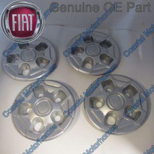 "Fits Fiat Ducato 16"" Wheel Centre Caps (14-On) 1374671080 x4"