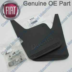 Fits Fiat Ducato Rear Mud Flap Guards With Fitting Kit (2002-2006) 50900792