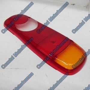 Fits Peugeot Boxer Citroen Relay Fiat Ducato Rear Box Light Lens 2006 On