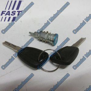 Fits Fiat Ducato Peugeot Boxer Citroen Relay Door Barrel Lock (06-On)