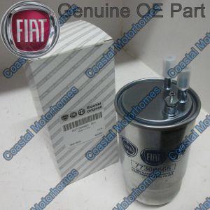 Fits Fiat Ducato Peugeot Boxer Citroen Relay 250 OE Diesel Fuel Filter 77366565
