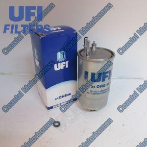 Fits Fiat Ducato Peugeot Boxer Citroen Relay 250 Diesel Fuel Filter 77366565