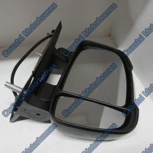 Fits Fiat Ducato Peugeot Boxer Citroen Relay Right Manual Short Arm Mirror 250