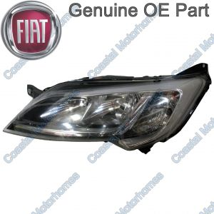 Fits Fiat Ducato Peugeot Boxer Citroen Relay Left Headlight Silver Without DRL OE