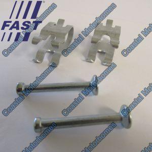 Fits Fiat Ducato Peugeot Boxer Citroen Relay Rear Brake Pin Clip Kit 77364021
