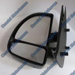Fits Fiat Ducato Peugeot Boxer Citroen Relay Left Manual Short Arm Mirror (99-06)
