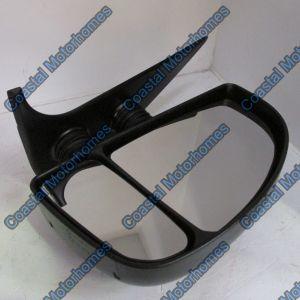 Fits Fiat Ducato Peugeot Boxer Citroen Relay Right Manual Short Arm Mirror (99-06)