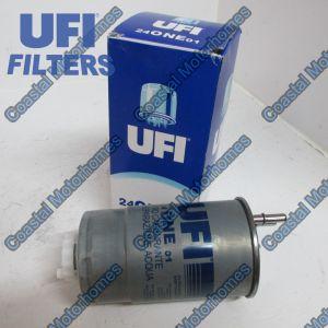 Fits Fiat Ducato Peugeot Boxer Citroen Relay Fuel Filter UFI 1606384980 77363657