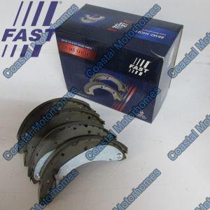 Fits Fiat Ducato Peugeot Boxer Citroen Relay 230 Rear Drum Brake Shoes 9945885