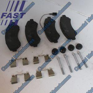 Fits Fiat Ducato Peugeot Boxer Citroen Relay Q17 Q20 Front Pads Set 77364015