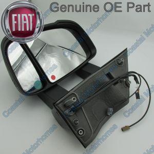 Fits Fiat Ducato Peugeot Boxer Citroen Relay Left Medium Mirror With FM Aerial 06-14