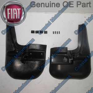 Fits Fiat Ducato Peugeot Boxer Citroen Relay Front Mud Flap Guards Kit 2006 On OE