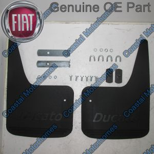 Fits Fiat Ducato Peugeot Boxer Citroen Relay Front Mud Flap Guards With Kit 2002-2006