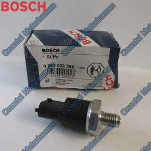 Fits Fiat Ducato Iveco Daily 2.3JTD Fuel Pressure Sensor Bosch 4897501