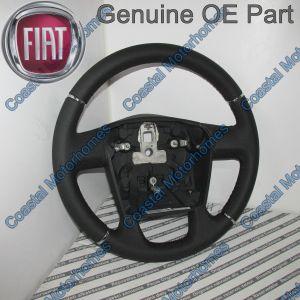Fits Fiat Ducato Peugeot Boxer Citroen Relay Leather Steering Wheel 2006-Onwards OE