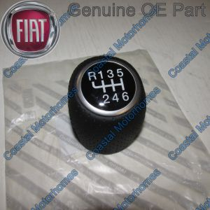 Fits Fiat Ducato Peugeot Boxer Citroen Relay 6 Speed Leather Gear Stick Knob 06-On OE