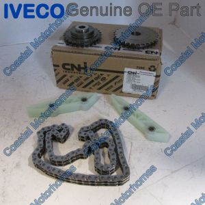 Fits Fiat Ducato Iveco Daily Relay Boxer Lower Timing Chain Kit 3.0L JTD-HDI (06-On)