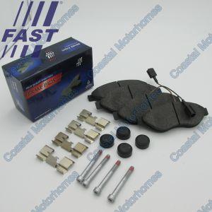 Fits Fiat Ducato Peugeot Boxer Citroen Relay Front Brake Pads Q12/Q15/Q17L (06-On)