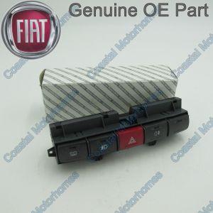 Fits Fiat Ducato Peugeot Boxer Citroen Relay Push Button Switch Panel 2002-2006 OE