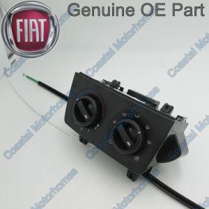 Fits Fiat Ducato Peugeot Boxer Citroen Relay Heater Control Panel (06-On) 77366035