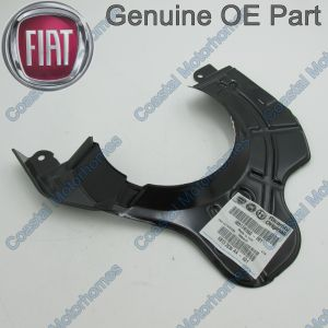 Fits Fiat Ducato Peugeot Boxer Citroen Relay Front Right Brake Backing Guard (06-On)