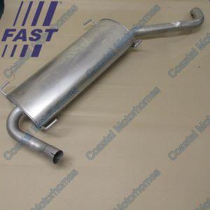 Fits Fiat Ducato Peugeot Boxer Citroen Relay LHD Rear Exhaust Box 3.0L (06-14)
