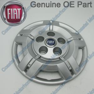 "Fits Fiat Ducato 16"" Hub Cap Blue Badge X1 2006-Onwards OE"