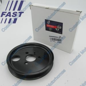 Fits Fiat Ducato Peugeot Boxer Citroen Relay Power Steering Pulley 2.2 (06-On)