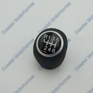 Fits Fiat Ducato Peugeot Boxer Citroen Relay 6 Speed Leather Gear Stick Knob 06-On