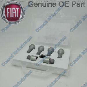 Fiat Ducato Peugeot Boxer Citroen Relay Locking Wheel Bolt Kit M16 2006> Nut