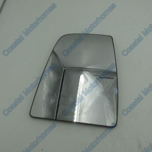 Fits Ford Transit MK8 Upper Left Convex Door Mirror Glass 2014 Onwards