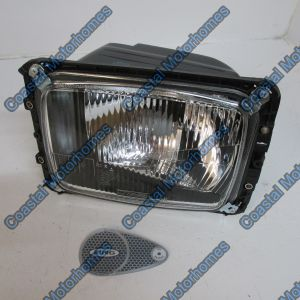 Fits Headlight LHD Left Mercedes T1 T2 207 307 407 208 308 408 209 309 409
