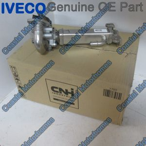 Fits Iveco Daily EGR Valve Cooler Exhaust Gas Recirculation 2.3JTD 5801856571