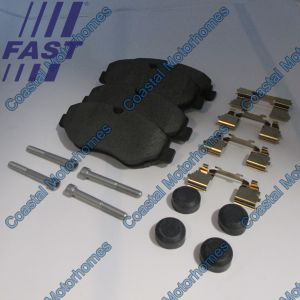 Fits Iveco Daily Front Brake Pad Set Without Wear Sensors (1997-Onwards)