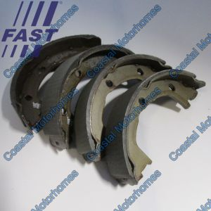 Fits Iveco Daily Rear Hand Brake Shoes For Disc Brakes (1989-Onwards)