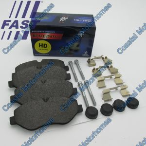 Fits Iveco Daily Front Brake Pad Set Without Wear Sensors HD (1997-Onwards)