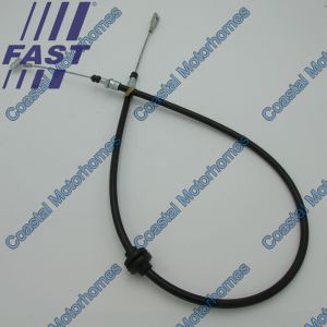 Fits Iveco Daily IV-V-VI Rear Hand Brake Cable For Discs 1280/965mm (06-On) 504347502