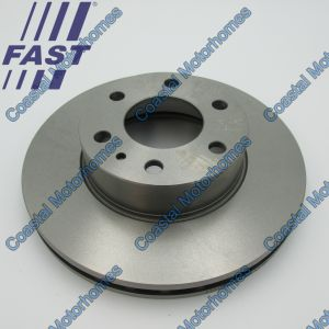 Fits Iveco Daily III-IV-V-VI Front Brake Disc Vented 300mm (1997-On)