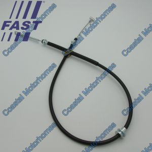 Fits Iveco Daily IV-V-VI Rear Hand Brake Cable 1330/1010mm (2006-Onwards)