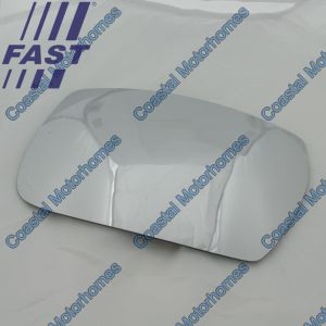 Fits Iveco Daily IV-V Lower Right Heated Mirror Glass (2006-2014)