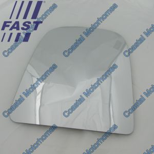 Fits Iveco Daily IV-V Upper Left Heated Mirror Glass (2006-2014)