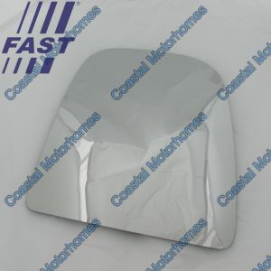 Fits Iveco Daily IV-V Upper Right Heated Mirror Glass (2006-2014)