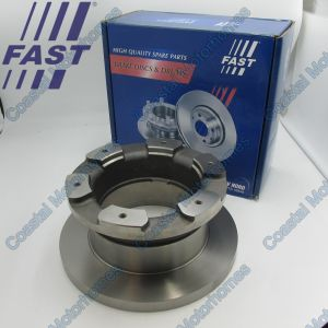 Fits Iveco Daily III 1x Rear Brake Disc 65C (1997-2007) 7182874, 42471150