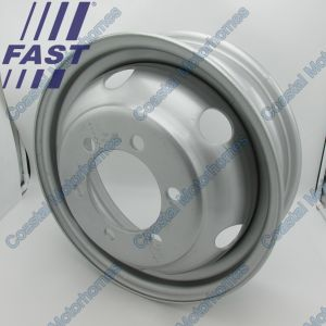 "Fits Iveco Daily II 1X Single Wheel 16""x5J (1989-1999)"