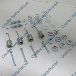 Fits Mercedes T1 Rear Brake Shoes Fitting Kit  601 207 307 407 208 308 408 209 309 409