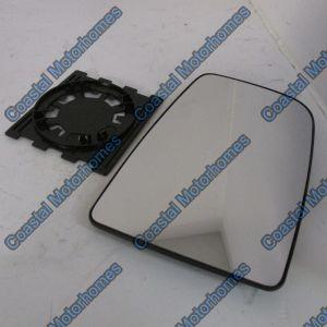 Fits Mercedes Sprinter VW Crafter Upper Right Convex Door Mirror Glass