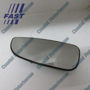 Fits Fiat Ducato Peugeot Boxer Citroen Relay Lower Left Heated Mirror Glass 06-On
